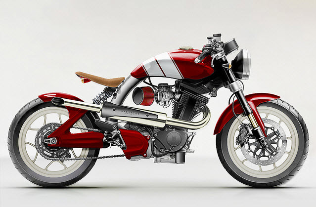 Fast Is Fast Pea Shooter Harleys: Mac Motorcycles's Coolest Motorcycle