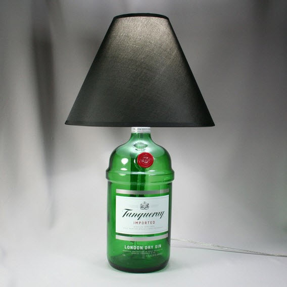 Recycled Bottle Lamps