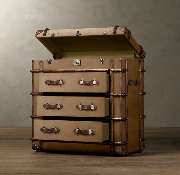 Richard's Trunks by Restorations Hardware