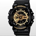 Coolest Watch, Casio G-Shock Black and Gold GA110GB-1A