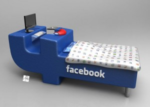 Facebook Bed