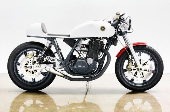 Lossa 1978 Yamaha SR 500 Motorcycle