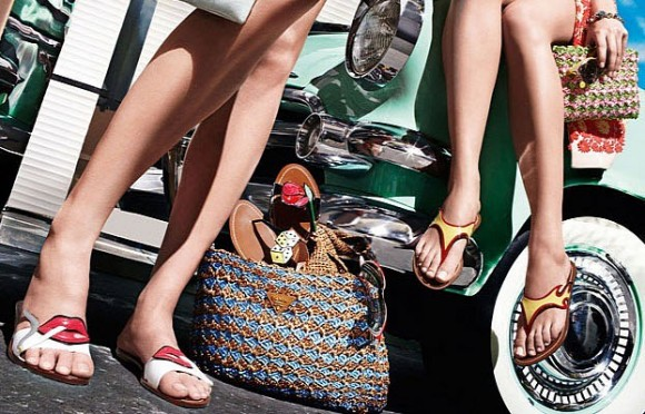 Prada Releases 1950s Cadillac and Hot Rod-Inspired Shoe Collection_5