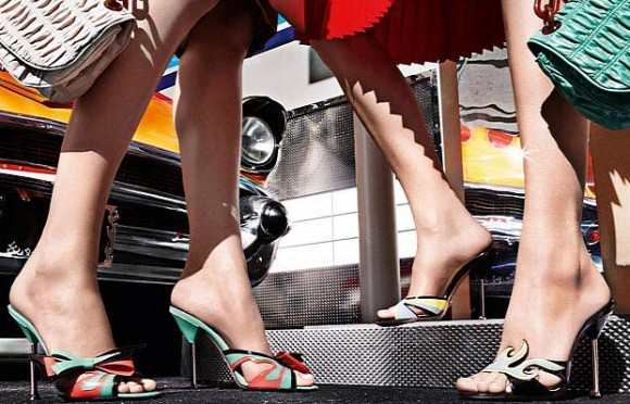 Prada Releases 1950s Cadillac and Hot Rod-Inspired Shoe Collection_6