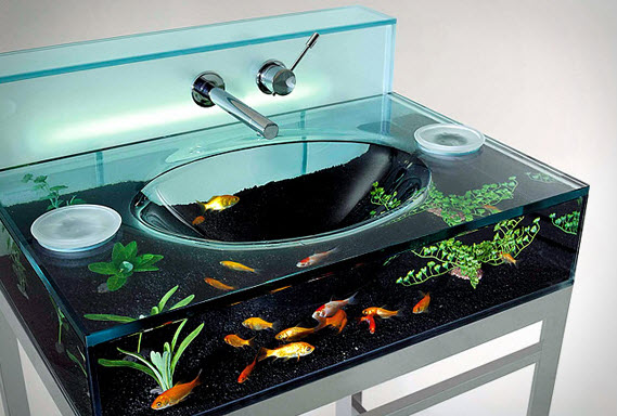 The Moody Aquarium Sink