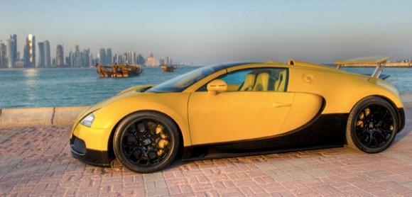 Unique Bright-Yellow Veyron Grand Sport_3