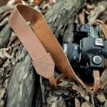 Vintage Leather Camera Strap
