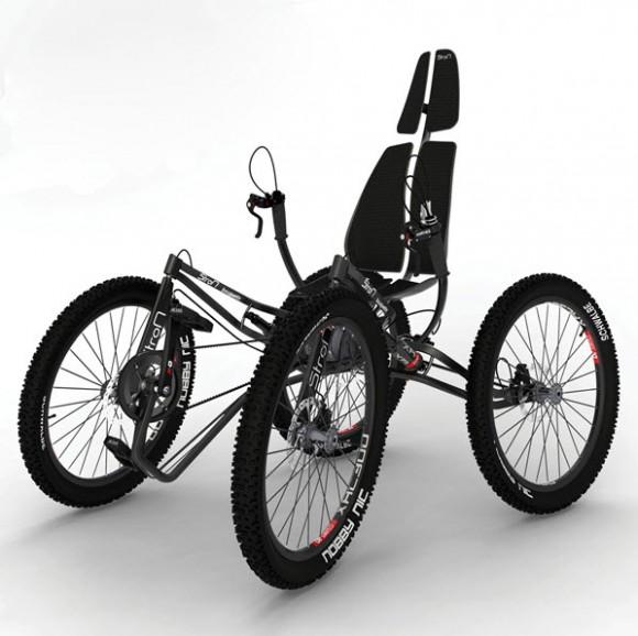 The StroM Bouqetin Quadricycle Concept