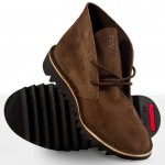 Brown Leather Boot by Deus
