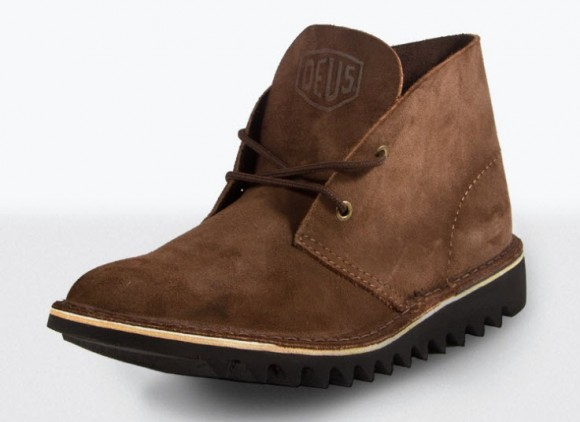Brown Leather Boot by Deus_1