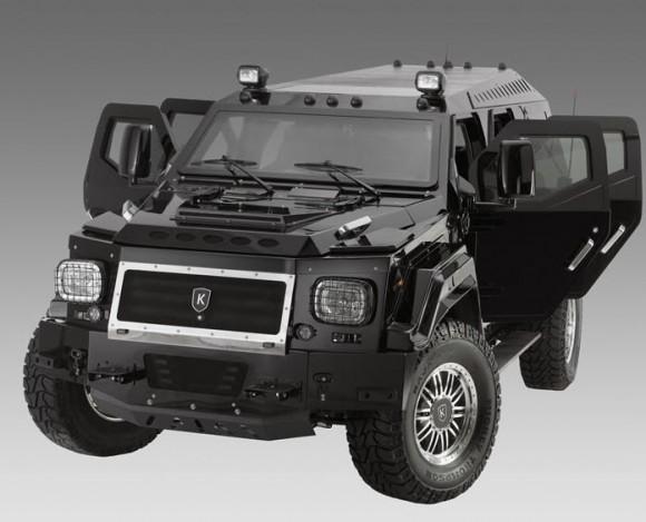 Knight XV Fully Armored SUV_4