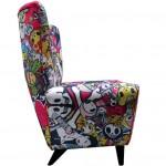 Tokidoki Limited Edition 'Singapore' Wing Chair_2