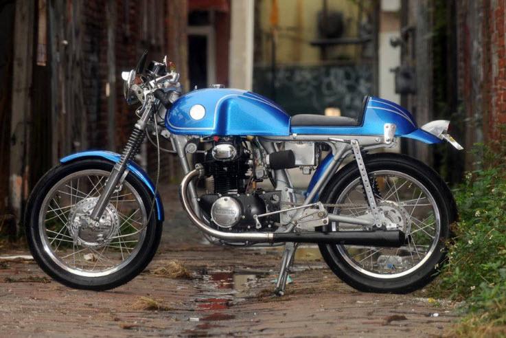1972 Honda CB350 Cafe Racer_1