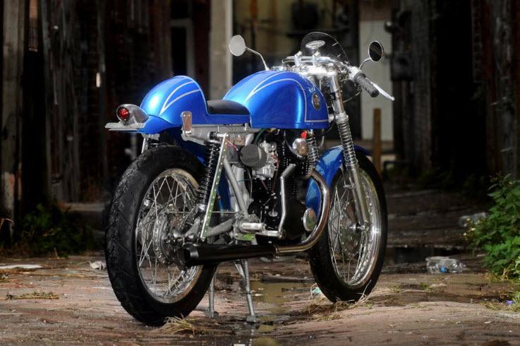 1972 Honda CB350 Cafe Racer_2