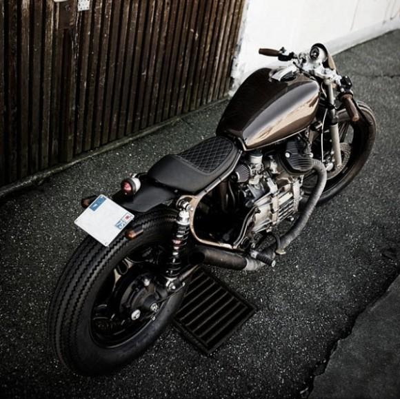 Metallic Brown Honda CX500 by Wrenchmonkees_1