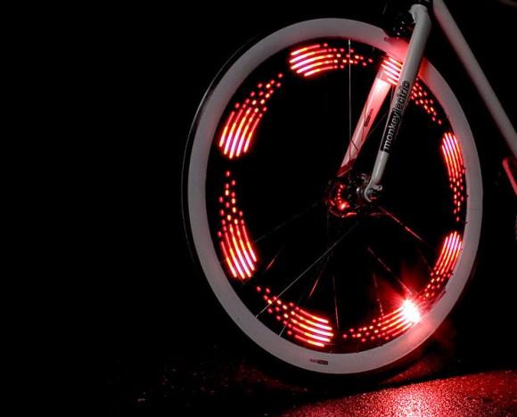 Monkey Bike Wheel Light