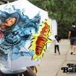 Colorful Hand Painted Umbrellas by Black Balloons_5